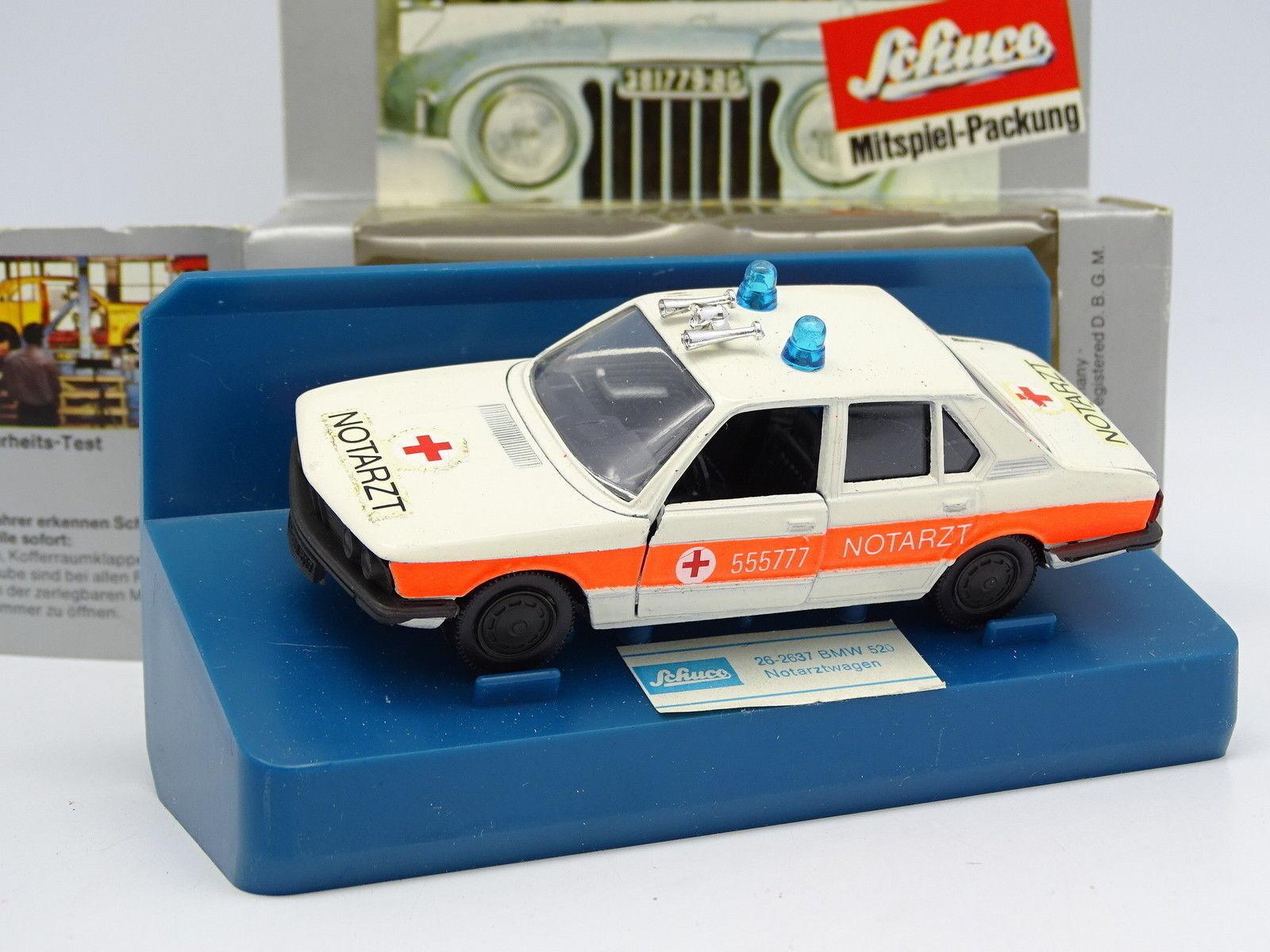 Schuco 1 43 - BMW 520 E12 Notarztwagen Ambulance