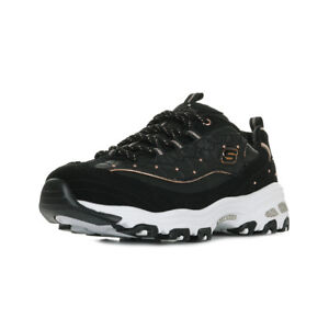 8f2a94ed3ef Caricamento dell immagine in corso Chaussures-Baskets-Skechers-femme -D-039-Lites-Glamour-