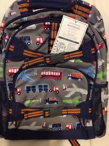 fe68b2f318 Pottery Barn Kids Large Mackenzie Backpack New! Brody Transportation ...