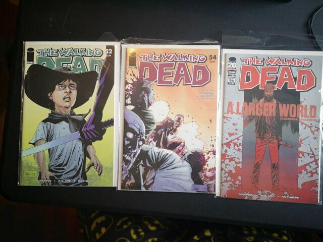 Walking Dead First Print Comic Lot 52,54 96 TWD