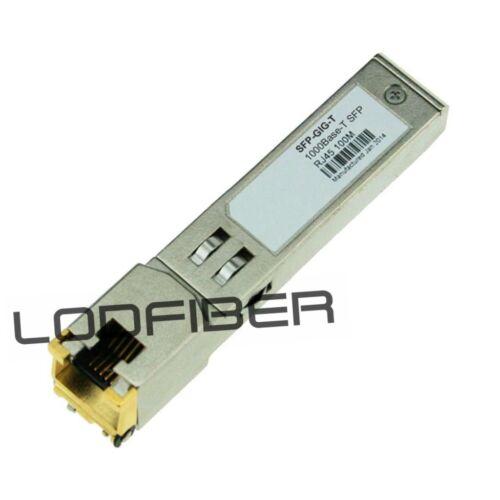 SFP-GIG-T Alcatel-Lucent Compatible 1000BASE-T Copper RJ-45 100m Transceiver
