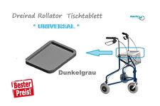 DELTAGEHRAD Dreirad Rollator Tablett Tisch Tragetablett Dreiradrollator PE 5Kg