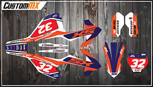 Details about KTM SX85 Full Graphics Kit 2003-2012 2013-2017 2018-2019 SX  85 Decals Stickers