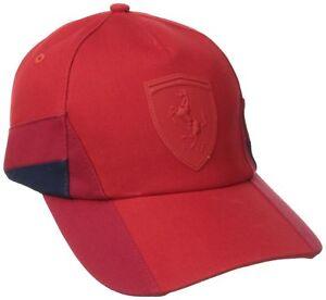 09873a01ca4 Puma Ferrari Lifestyle Men s F1 Team Trucker Baseball Hat Cap Red ...