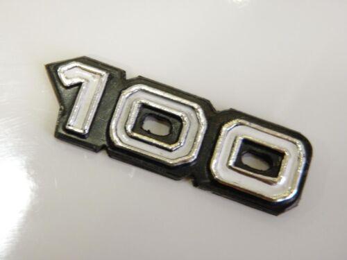 New Yamaha 100 DX100 DX Side Frame Cover Emblem Badge Decal Aftermarket Model