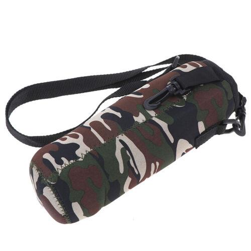 1000ML Water Bottle Carrier Insulated Cover Bag Neoprene Holder Strap OutdooPGD