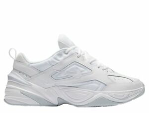 f628f0a1899 NIKE M2K TEKNO PURE PLATINUM AV4789-101 TRIPLE WHITE MENS SNEAKERS ...