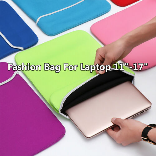 """Carrying Sleeve Cover Bag Case For 11-17/"""" MacBook Air Pro Lenovo HP Dell Asus"""