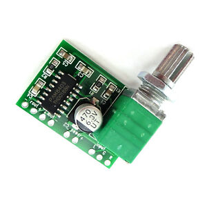 Pam8403 Mini Digital Power Amplifier Board With Switch Potentiometer Usb 5V GN