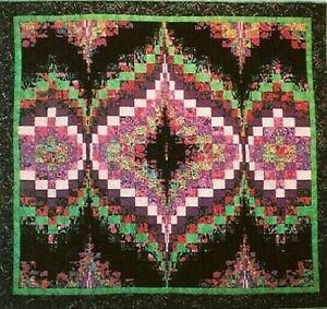 Details about New Strip Bargello Quilt Pattern SECOND TIME AROUND 49