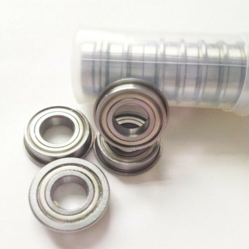 4x MF104ZZ 4x10x4 mm Metal Shielded with Flanged PRECISION Ball Bearing CAPT2011