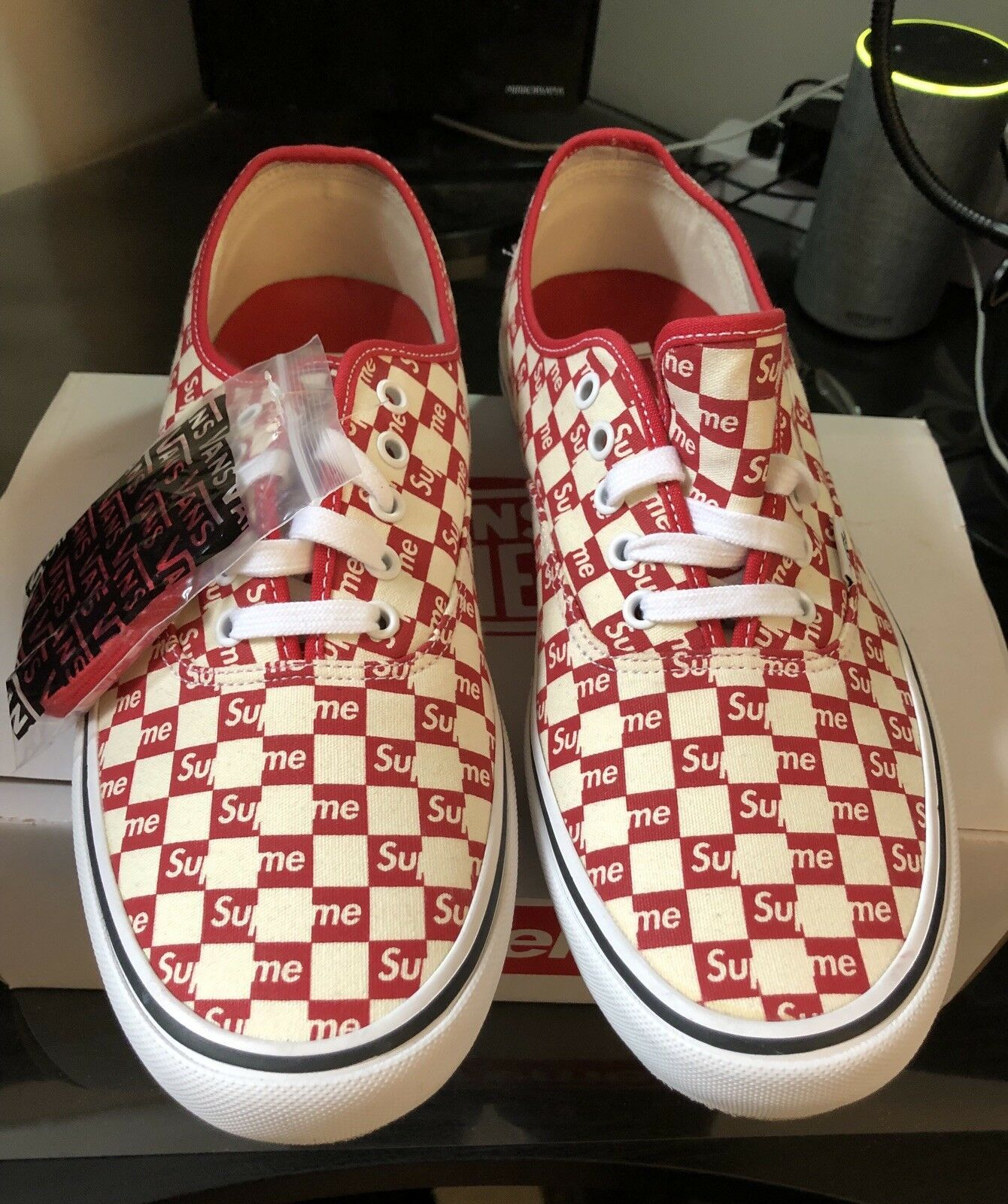 606a4088f20 Supreme Vans Vans Vans Red Checker Size 12 9a9cef - the-turningpoint.com