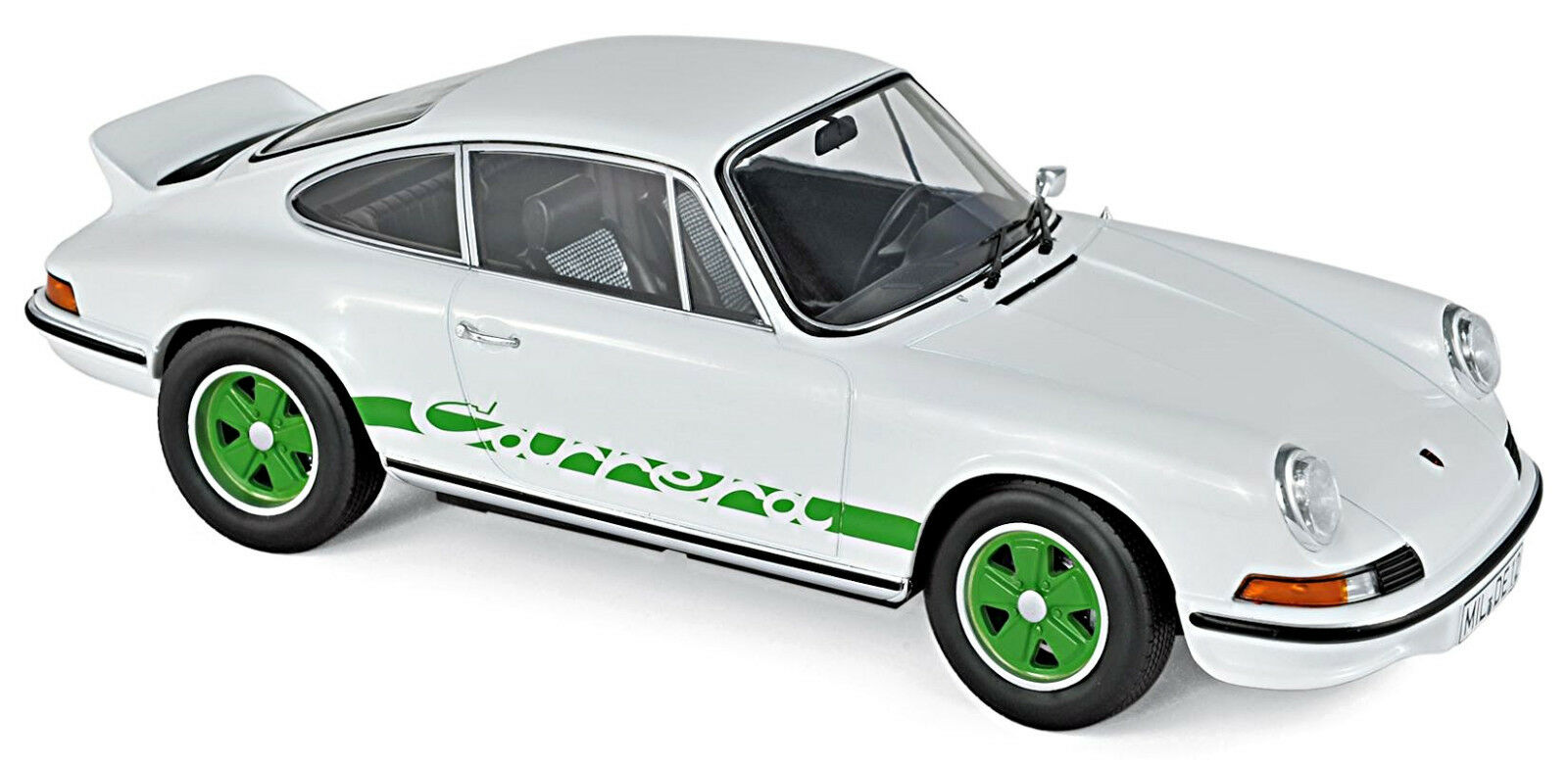 Porsche 911 911 911 Carrera RS 2.7 Coupe 1973 weiß grün Weiß Grün 1 18 Norev  | Offizielle Webseite  6b264c