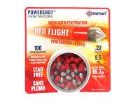 Red Flight Crosman Powershot Penetrators | .22 Cal, 16.7gr, 100 Ct