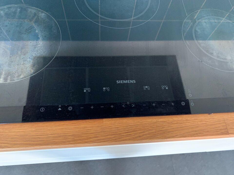Glaskeramisk kogeplade, Siemens, b: 80 d: 51