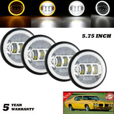 New Listing575inch 5 34 Led Headlights Hil Drl Headlamps For Chrysler Buick Dodge Edsel Fits 1972 Charger