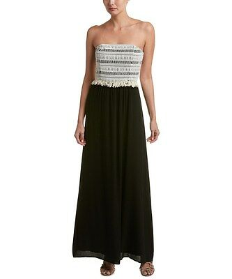 Ella Moss Ella Moss Raffia Maxi Dress Size Small Ebay