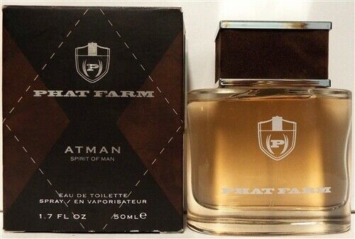 Phat Farm Atman Eau De Toilette Spray 1.7oz