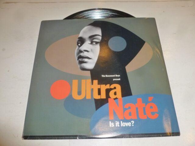 "The basement boys presents ULTRA NATE - Is It Love? - 1991 UK 3-mix 12"" Single"