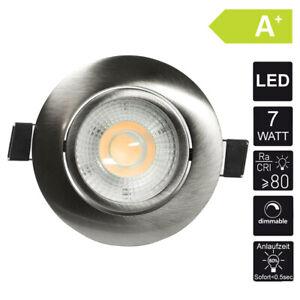 LED-Spot-Faretto-da-Incasso-Set-Lampada-Plafoniera-Faretto-7W-Dimmerabile