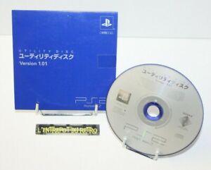 ++ utility disc version 1.01 pour console playstation 2 PS2 - version JAP ++