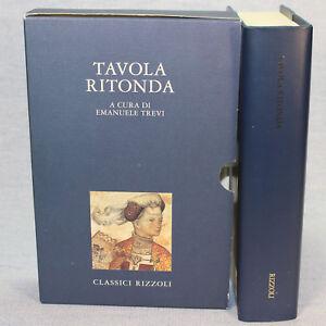 Emanuele-Trevi-a-cura-di-TAVOLA-ROTONDA-1-ed-Classici-Rizzoli-1999-cop-rigida