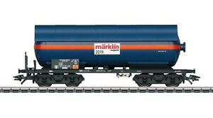 Maerklin-H0-48519-Magazin-Jahreswagen-2019-034-Druckgas-Kesselwagen-034-NEU-OVP