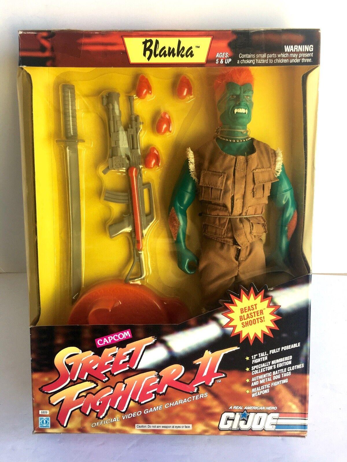 G. I. Joe BLANKA STREET FIGHTER II CAPCOM GJ-4