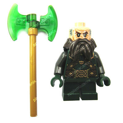 NEW LEGO 79018 RED BALIN THE DWARF Minifigure Figure The Hobbit Lonely Mountain