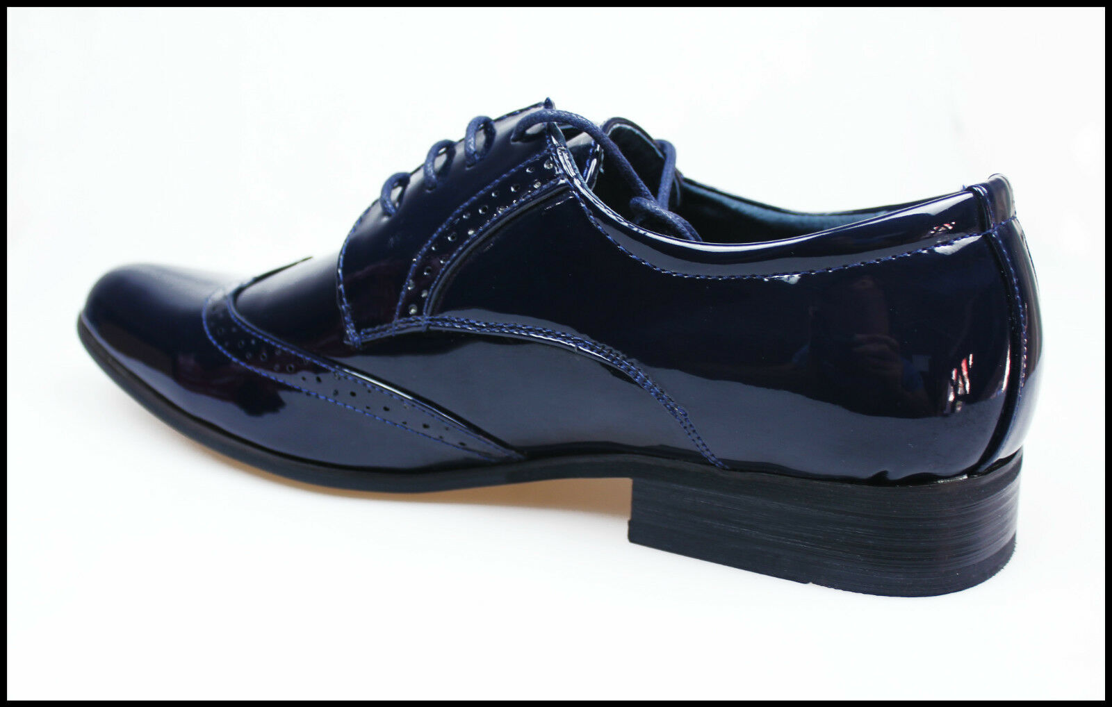 219eb45a05 Court Blue Shoes Top Classic Line CeremonyEbay ModFringed Class Man ...