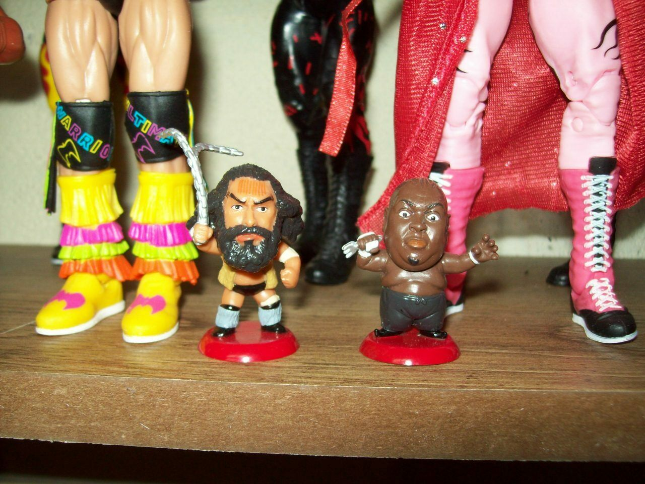 BRUISER BRODY & ABDULLAH The BUTCHER MINI BIG HEADS Japan WWE WWF WcW NXT ECW