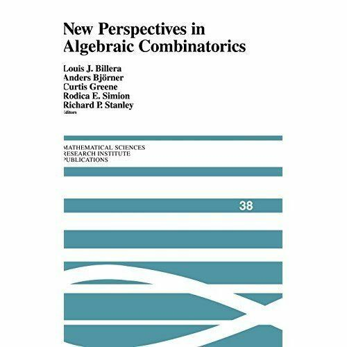 1 of 1 - New Perspectives in Algebraic Combinatorics (Mathematical Sciences-ExLibrary