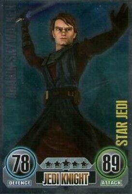 Star wars force attax asajj ventress #164 star