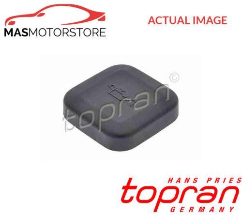 500 345 TOPRAN ENGINE OIL FILLER CAP G NEW OE REPLACEMENT