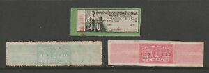 Brazil-Cinderella-mix-Revenue-fiscal-collection-stamp-ml68-as-seen-scarce