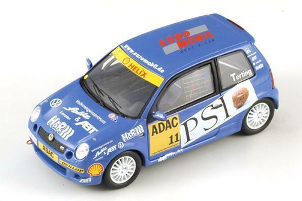 VW Lupo P.Terting  Champion Lupo Cup  2002 (Spark 1 43   S0844)