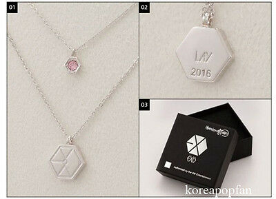 LAY EXO FROM PLANET#2 EXODUS 2016 NECKLACE KPOP NEW SING FOR YOU