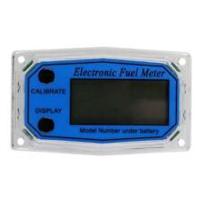 Turbine Flow Meter Display Chip Digital Oil Fuel Flow Meter Mini Pump Flow Meter