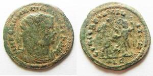 Diocletianus Ae Antoninianus Alexandria Pure Whiteness aa5908 Zurqieh