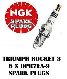 Spark Plugs Fits 2009 Triumph Rocket III Classic