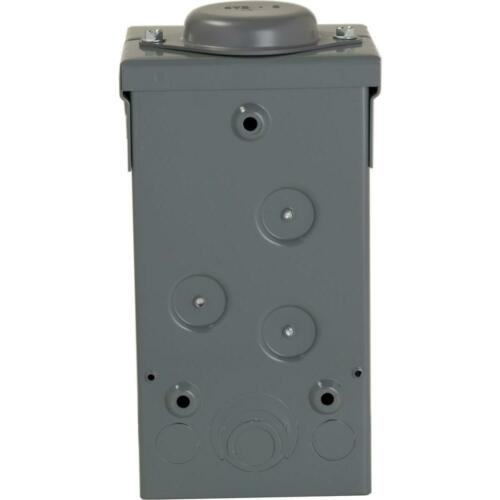 Square-D Homeline 70-Amp 2-Space 4-Circuit Indoor Main-Breaker Panel Load-Center