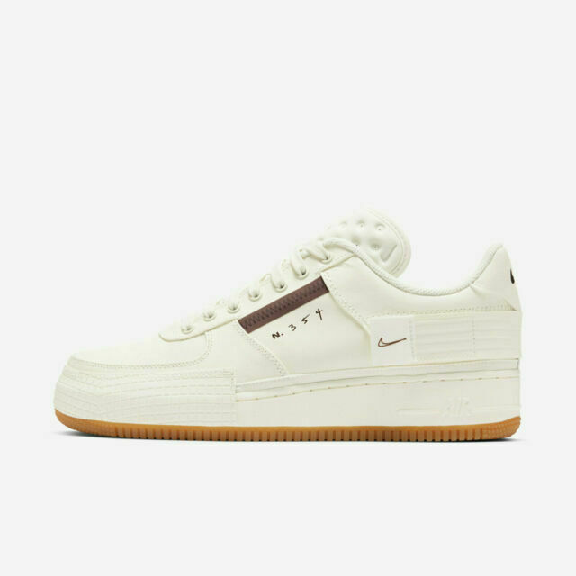 Size 7.5 - Nike Air Force 1 Type Sail Gum for sale online | eBay