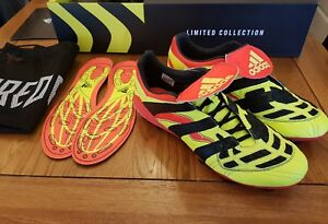 7e6f6c2f3 Adidas Predator Accelerator Firm Ground Boots NEW Size 9 Remake from ...