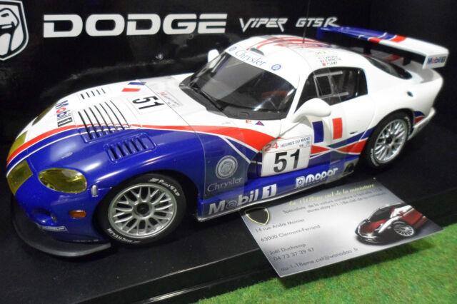 DODGE VIPER GTS-R WINNER LE MANS GT2 1998 o 1/18 AUTOart 89821 voiture miniature