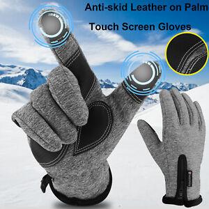 Winter Waterproof Thermal Touchscreen Gloves Outdoor Sports Ski Gloves Women Men