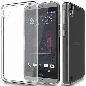 reputable site 26273 ee929 Details about HTC Desire 530 Case Clear Soft Slim TPU Protective Case Cover  for HTC Desire 530