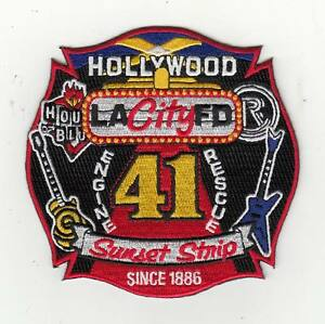 California-Los-Angeles-Hollywood-Sunset-Strip-Engine-Rescue-41-Patch