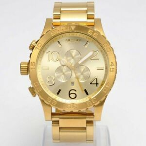 51-30-CHRONO-All-Gold-A083-502-Mens-Watch-NEW-in-Box
