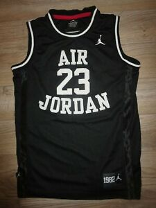 sports shoes 54f97 78f8d Details about Michael Air Jordan #23 Chicago Bulls NBA Jersey Youth L 14-16