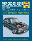 Mercedes-Benz 124 Series Service and Repair Manual by Haynes Publishing Group (Paperback, 2014)